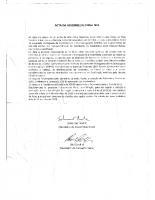 Acta nº 4